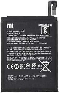 Bateria Original Xiaomi Modelo BN45 Con 4000mAh Para Xiaomi RedMi Note 5 Pro: Amazon.es: Electrónica