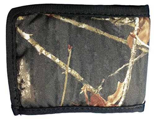 Mens Mossy Oak Camo Bi Fold Wallet Camo Bill Fold for Men Plus a FREE (Mossy Oak Bi Fold Wallet)