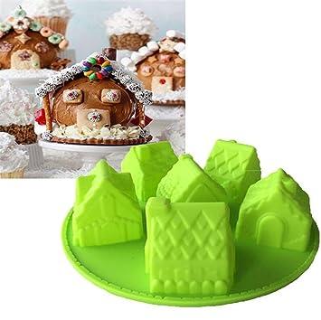 Alltagliche Gaomoju 1 Stuck Formchen Fur Kuchen Haus Weihnachten