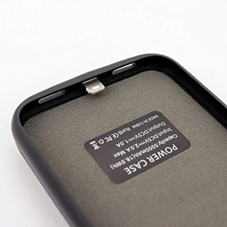 Cover Battery iPhone Black (Ultra Slim) - Baxet: Smart Accessories