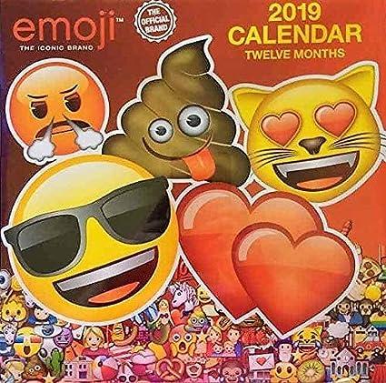 Emoji The Iconic Brand 2019 Twelve Month Calendar 10