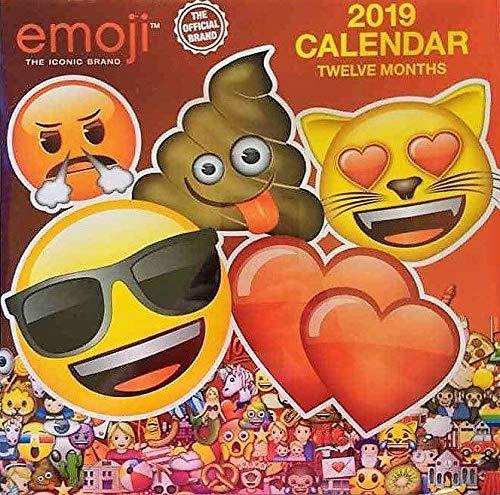 2009 Twelve Month Calendar - Emoji The Iconic Brand 2019 Twelve Month Calendar 10