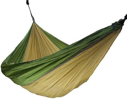 Paracaídas hamaca – tela de Nylon de viaje Camping hamaca: Amazon.es: Jardín