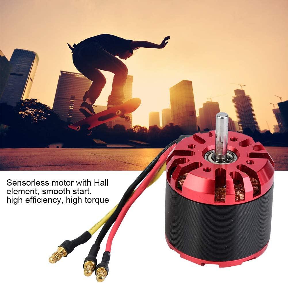 Alomejor Elektrischer Brushless Motor Geringer Energieverbrauch Ger/äuscharm f/ür Balancieren Skateboards