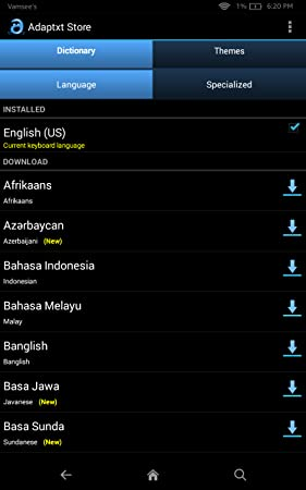 Amazon com: Adaptxt Free Keyboard: Appstore for Android