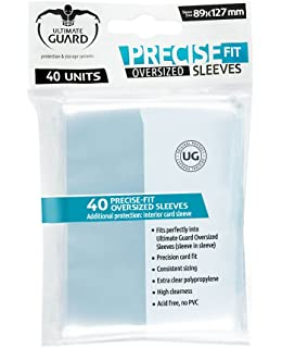 100 Ultimate Guard UGD010050 Precise Fit Sleeves
