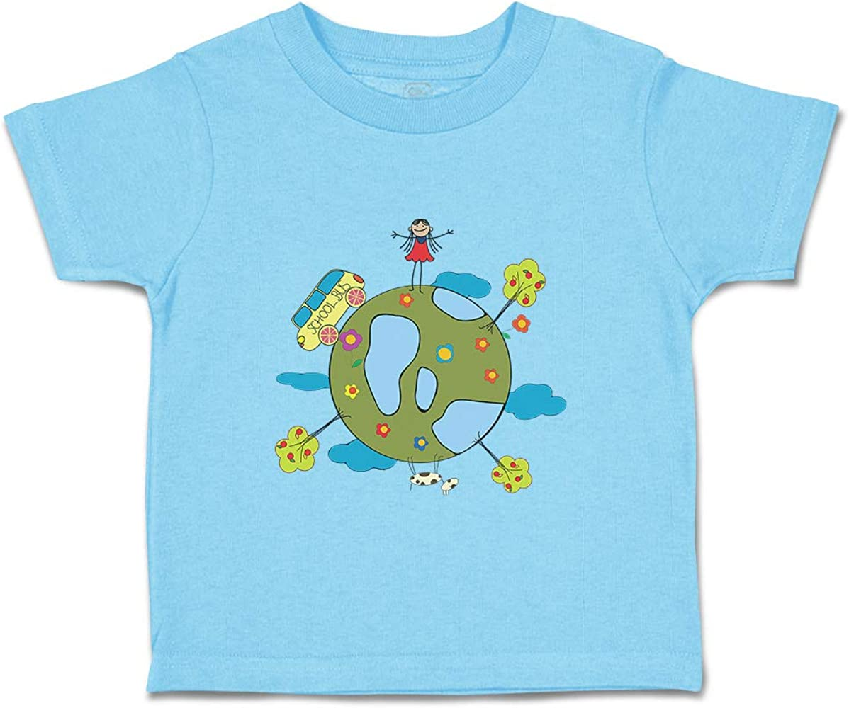 Baby Boys Kids Color Animation Cat Printed Long Sleeve 100/% Cotton Infants Tee Shirt