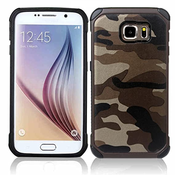 quality design 223a5 1f2a0 Camouflage Samsung Galaxy Note 5 Case, Shockproof High Impact Resist Hard  Armor Case [Desert Brown]