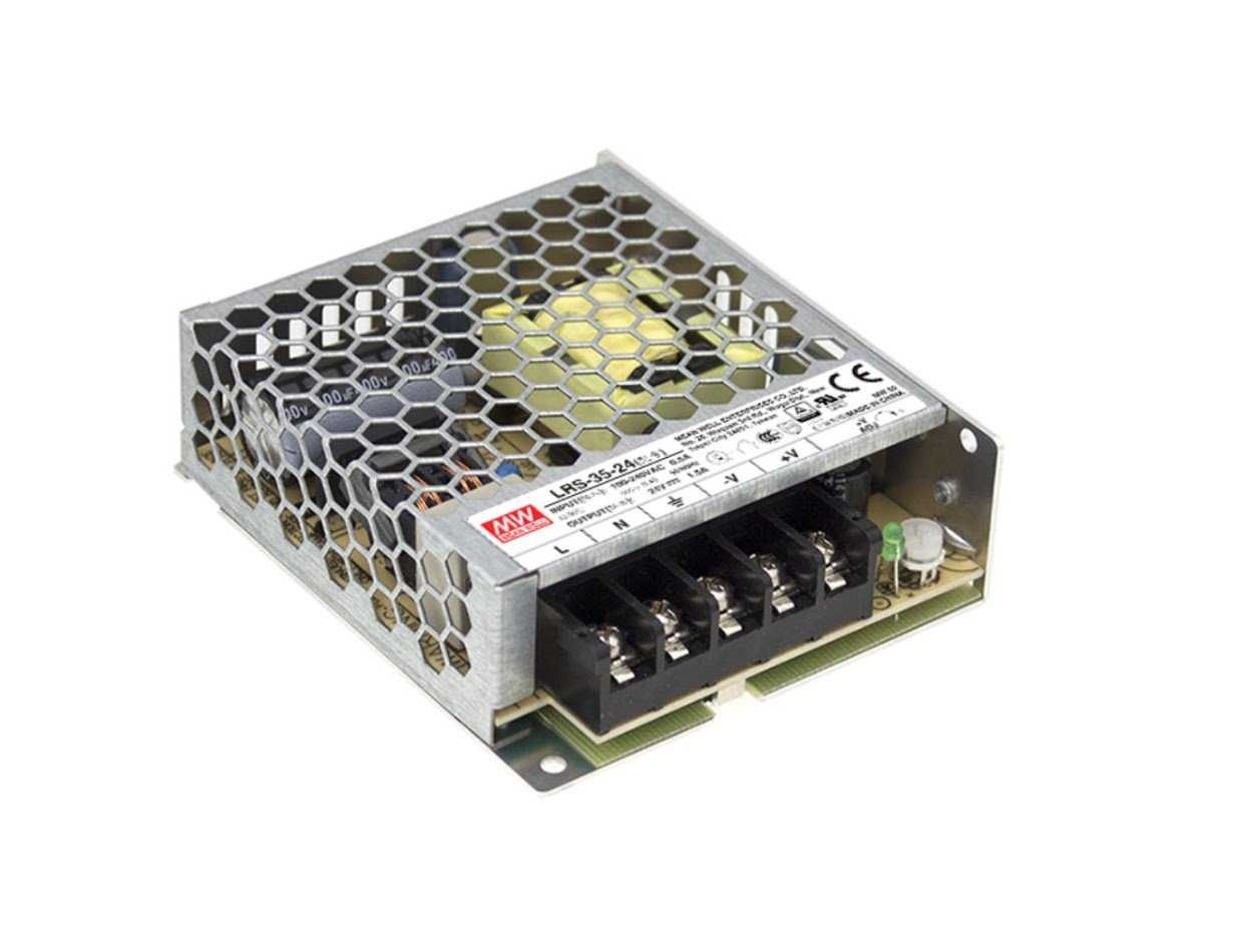MW Mean Well PS-35-24 24V 1.5A 36W Single Output Switching Power Supply
