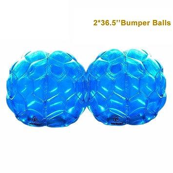 Amazon.com: PACKGOUT parachoques cuerpo inflable de bolas ...