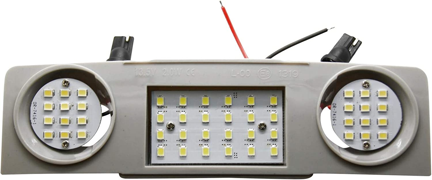 Led Smd Innenraumbeleuchtung Set Modul Module Hauptbeleuchtung Lesebeleuchtung Vorne Vorn Mittlere Vordere Beleuchtung Auto