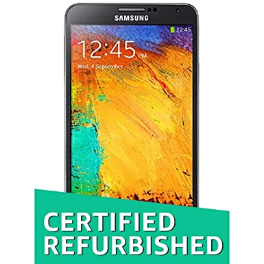 (Certified REFURBISHED) Samsung Galaxy Note 3 SM-N9000 (Jet Black) Smartphones at amazon