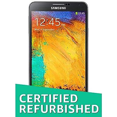 (Certified REFURBISHED) Samsung Galaxy Note 3 SM-N9000 (Jet Black) Smartphones at amazon