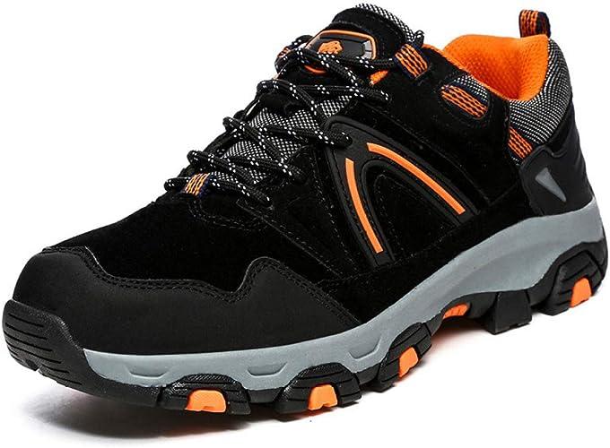Giles Jones Mens Climbing Shoes Autumn Suede Comfort Camping Climbing Trekking Shoes