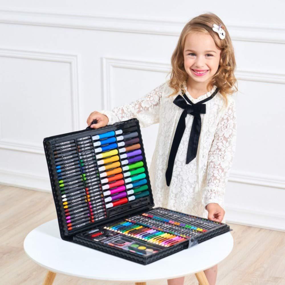 exclusivo 168pc de Plástico negro szegwh Lápiz de de de Color Profesional, Kit de Dibujo artístico, Regalo Ideal para Artistas, Adultos y niños, Caja de Madera de 288 pz.  ventas en linea