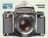 Pentax 6x7 Original Instruction Manual (No Mirror Lock-up)