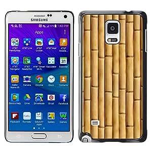X-ray Impreso colorido protector duro espalda Funda piel de Shell para Samsung Galaxy Note 4 IV / SM-N910F / SM-N910K / SM-N910C / SM-N910W8 / SM-N910U / SM-N910G - Beige Natural Nature Wood