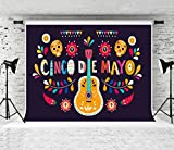Kate 10x10ft Cinco De Mayo Backdrop May 5 Fiesta Music Background for Photographer Photo Studio Prop