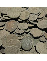 Uncleaned Roman Coin Starter Kit by Vx Investments. 10 Uncleaned Ancient Coins, a Cleaning Brush, and Printed Instructions. Restore Real Ancient Artifacts.