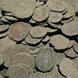 Uncleaned Roman Coin Starter Kit by Vx Investments. 10 uncleaned ancient coins, a cleaning brush, and printed instructions. Restore real ancient artifacts!