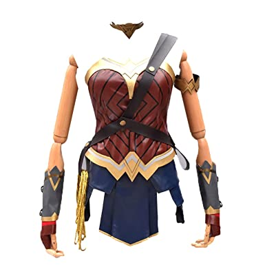 RenXinU Justice League Diana Prince Wonder Woman Adult Dress ...
