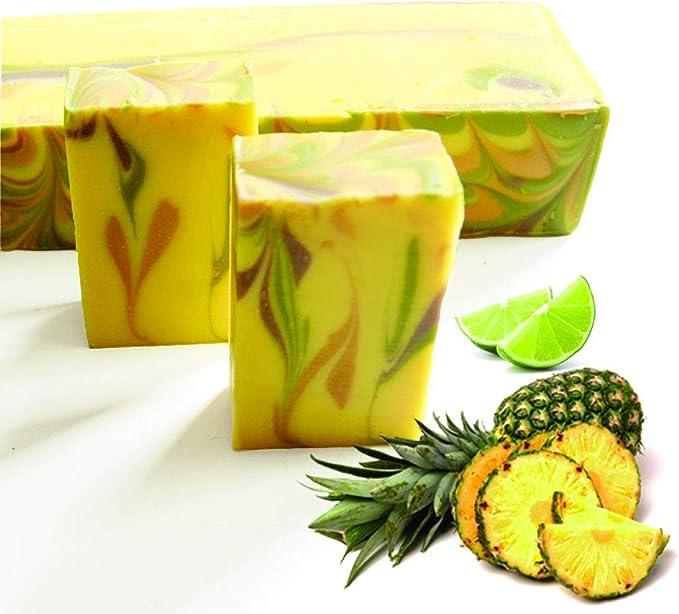Natural Artesanal Orgánica menta Jabón y Chia semillas lujo para el cuidado de la piel jabón: Amazon.es: Belleza