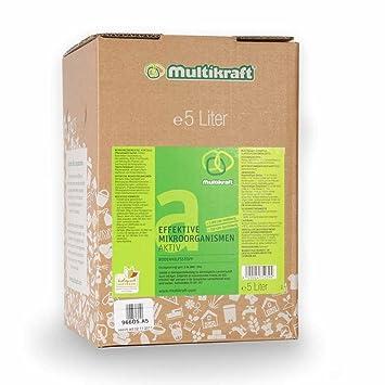 Efectiva microorganismos activo (EM de suelo activo), plástico - Abono - 5 Litros Caja/bag: Amazon.es: Jardín