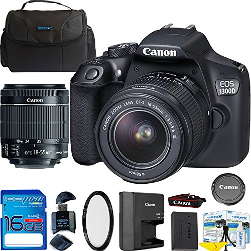 Canon EOS 1300D / T6 EF-S 18-55mm 18.7MP CMOS 5184 x 3456...