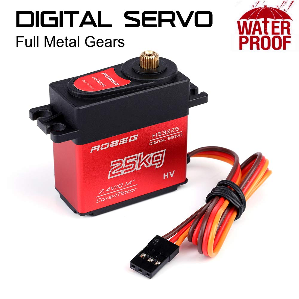 Mobiliarbus Digital Servo High Torque Full Metal Gear 20 kg ...