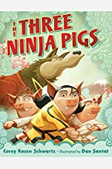 The Three Ninja Pigs Kindle Edition