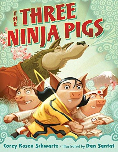 The Three Ninja Pigs (Coyote Rose)