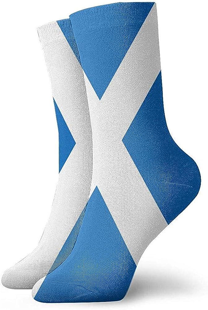Adamitt Schottland Flagge Unisex Crew Socken Short Sports Stocking