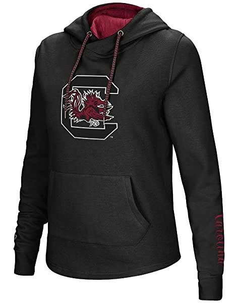 Image Unavailable. Image not available for. Color  South Carolina Gamecocks  Women s NCAA Inward Crossover Neck Hooded Sweatshirt 4eda70029