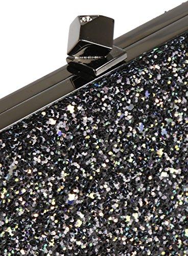 Jimmy Choo Pochette Donna CELESTEUCCRAINBOW Glitter Multicolor