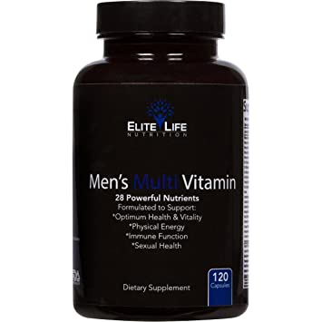 Best Multivitamin For Men >> Men S Multi Vitamin 28 Powerful Nutrients Vitamins And Minerals Best Multivitamin For Men