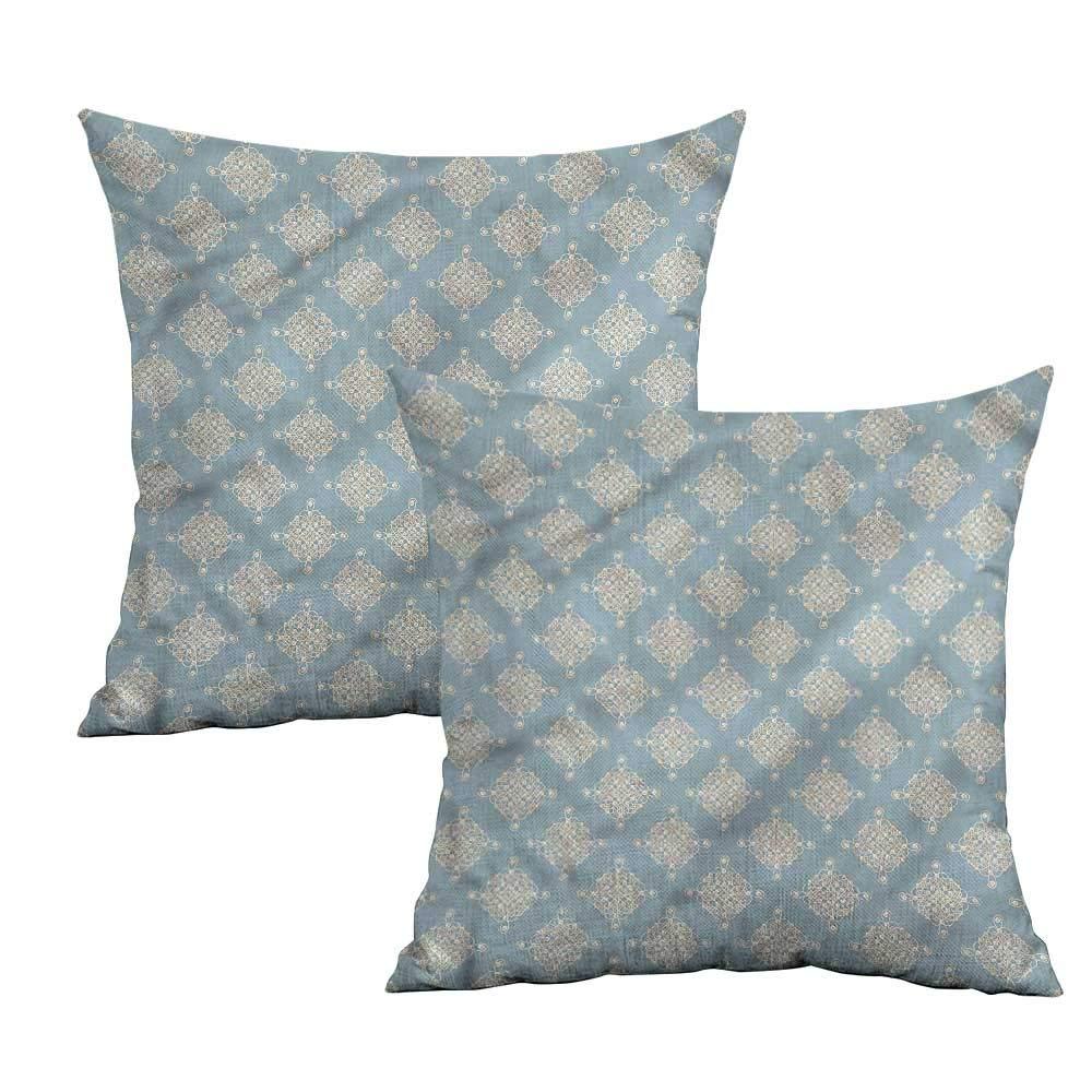 Amazon.com: Khaki Home Pearls Funda de almohada cuadrada ...