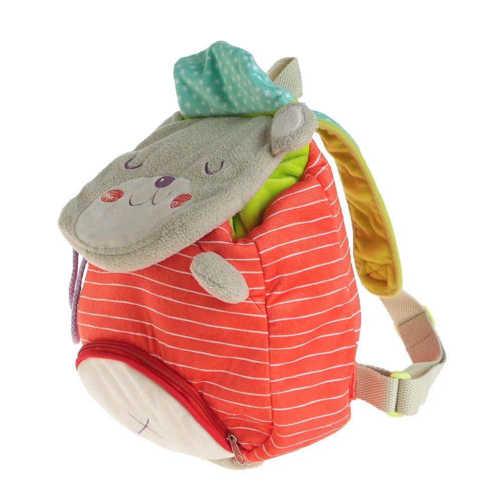 Amazon.com     BONUS  Hessie Red Toddler Backpack, Cute Stuffed Bear Bag  for Baby Unisex over 1 Year Old, Infant Girl Backpack Baby Bag Backpack Mini  ... fa56d6c2d0