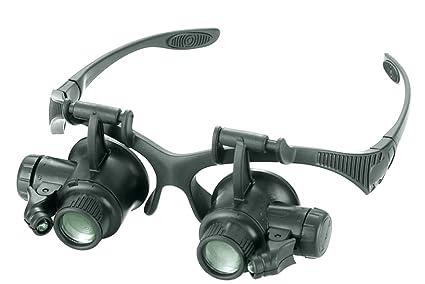 8fd01b9c16bd JBENG Magnifying Glasses Jewelry Loupe Watch Repair Magnifier Eyewear  Miniature Magnifying Glass Loop 10x 15x 20x