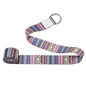 lulupila - Cinturón de Yoga (algodón, con Cierre Estable ...