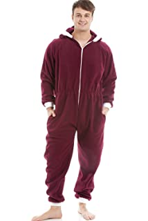 b6ed722aa6 Camille Classic Mens Soft Fleece Red And White Santa Festive Hooded ...