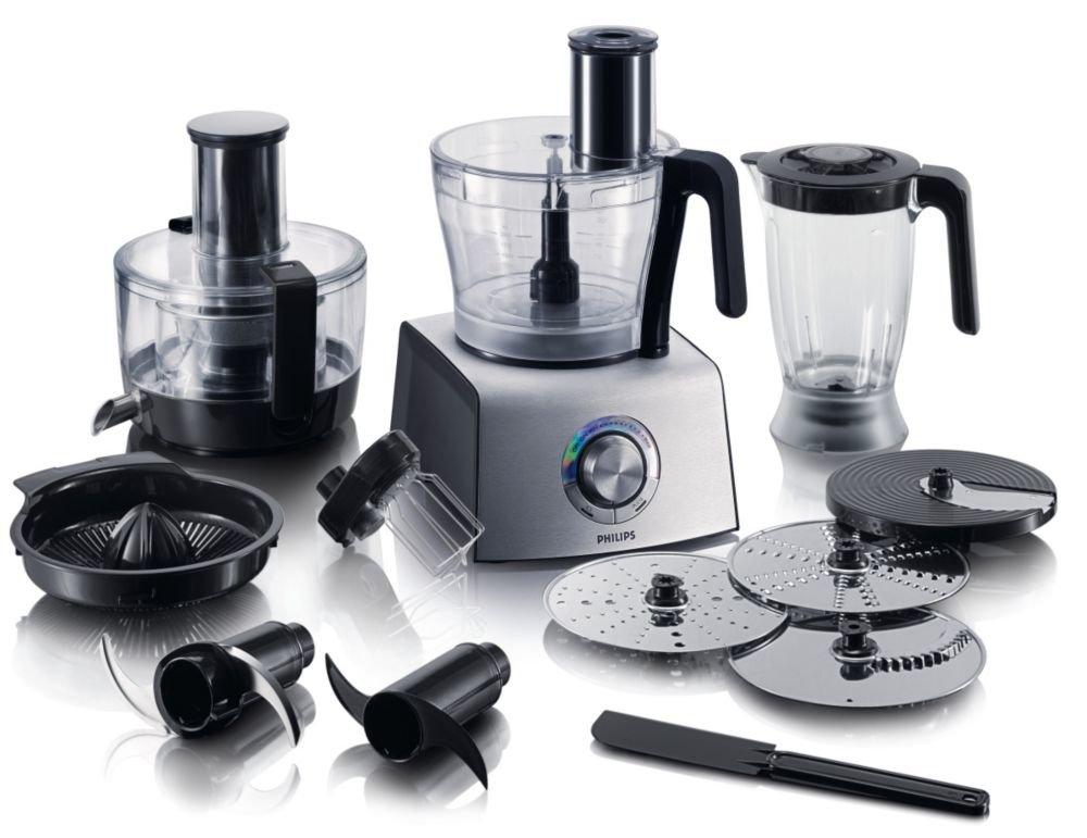 Philips HR7775/00 Aluminium Collection Robot da Cucina 1000 W ...