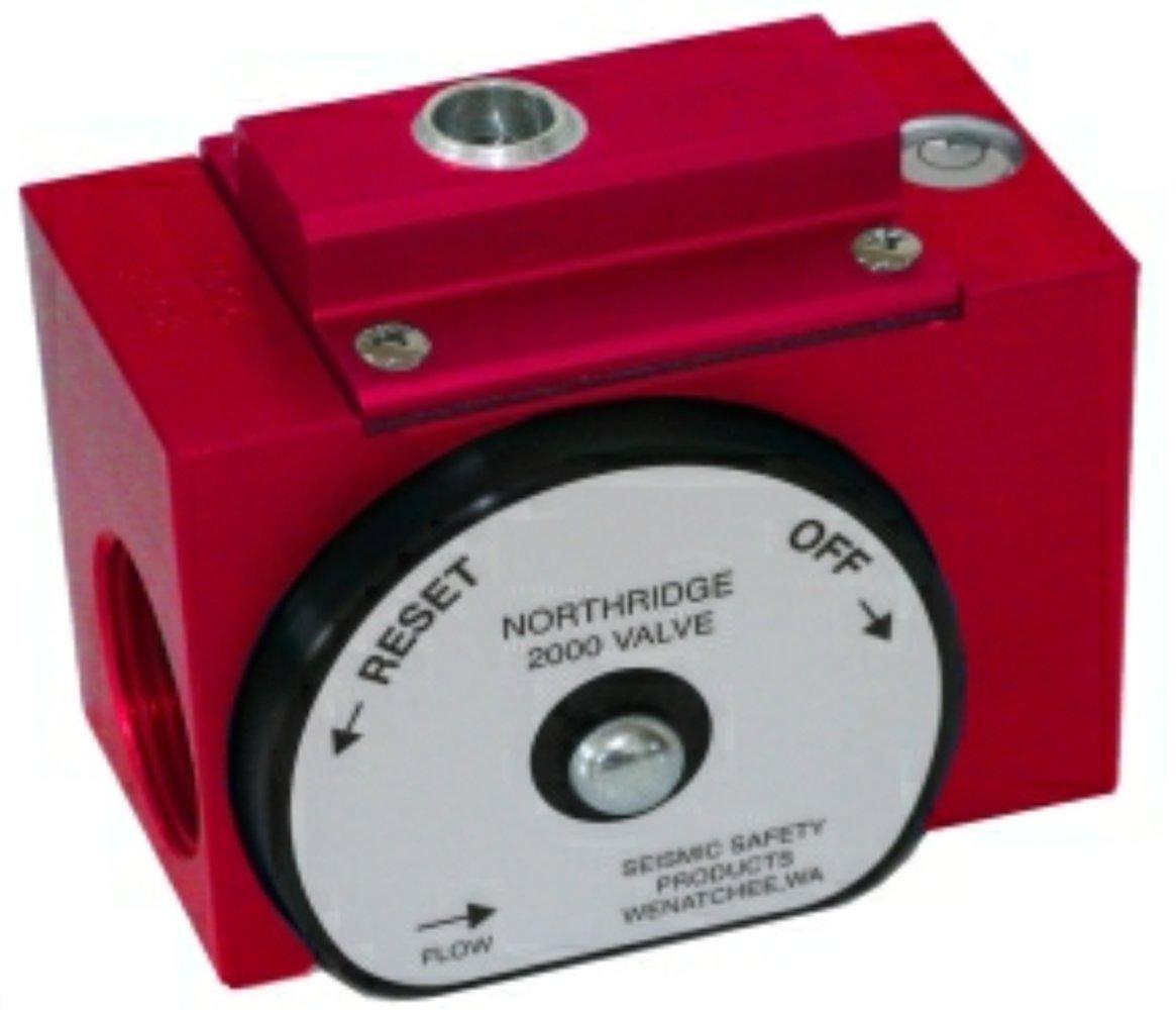 Andreas Fault Northridge Earthquake 2000 Gas Shut off Valve 1'' inch