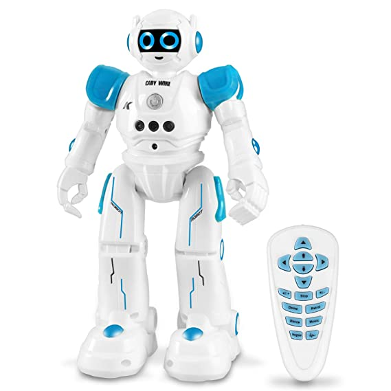 Roboter Spielzeug für Kinder, intelligent Ferngesteuerter Roboter mit Fernbedienung und Gestensteuerung, perfekte Geschenke f