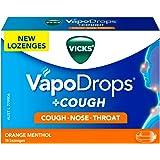 VICKS VapoDrops + COUGH Orange Menthol 16 Cough Lozenges