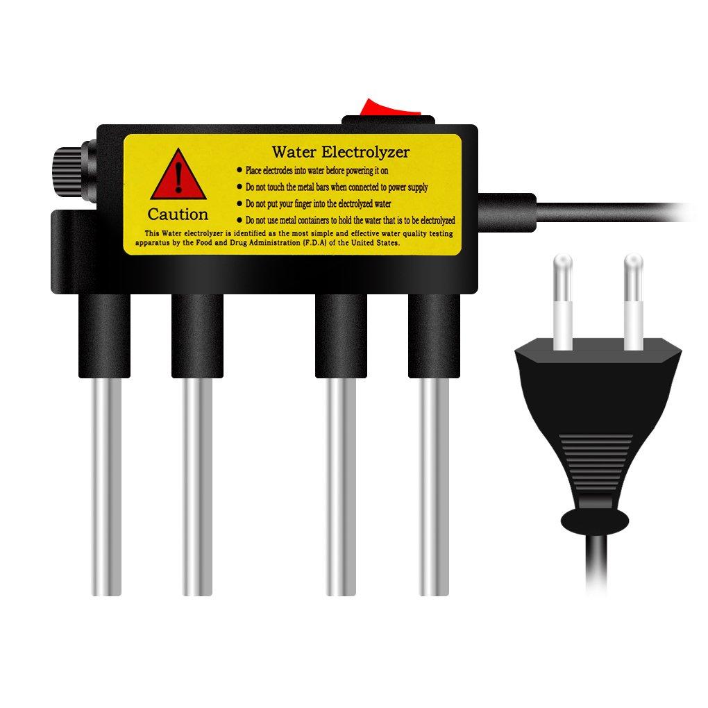 LafyHo Herramientas de Prueba electrolizador de Agua electró lisis del Agua Agua Pureza medidor de Nivel de probador de la Calidad del Agua