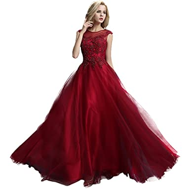 Red Plus Size Formal Dresses