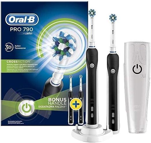 Oral-B Pro 790 CA - Pack de 2 cepillos de dientes: Amazon.es: Salud y cuidado personal