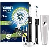 Oral-B Pro 790 Şarj Edilebilir Diş Fırçası 2'Li Avantaj Paketi, Siyah