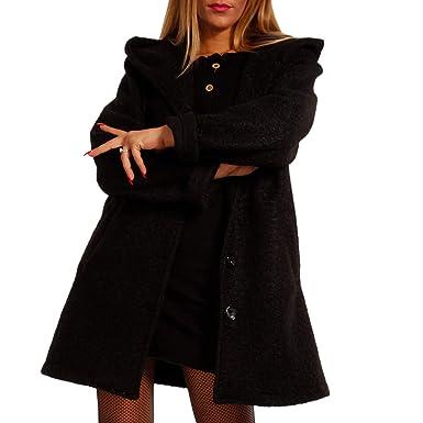YC Fashion & Style Damen Kurzmantel in Brit Chic Winter