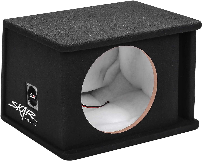"""Skar Audio SK1X12V Single 12"""" Universal Fit Ported Subwoofer Enclosure"""